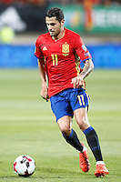 Spain's Vitolo during FIFA World Cup 2018 Qualifying Round match. September 5,2016.(ALTERPHOTOS/Acero)