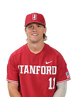 Stanford Baseball Portraits, February 9, 2018