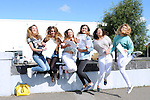 12/8/2015  Jasmine Hughes, Ballina, Ounissa Quaid, Castletroy, Ciara Stapleton, Monaleen, Ceiline O' Meara, Caherconlish, Grace Kavanagh, Lisnagry and Niamh Wetherill, Fedamore.  Pictured celebrating their Leaving cert results at Castletroy College, Limerick.<br /> Pic: Gareth Williams / Press 22