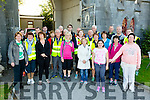 Early morning start for the Fr Billy O'Carroll walkers annual pilgrimage from the Holy Cross Dominican Church Tralee to our Lady's Well in Ballyheigue in time for Mass for Pattern Day. starting out at 6am on Tuesday
