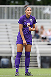 14 September 2014: LSU's Jordane Carvery (CAN). The Duke University Blue Devils hosted the Louisiana State University Tigers at Koskinen Stadium in Durham, North Carolina in a 2014 NCAA Division I Women's Soccer match. Duke won the game 1-0.