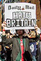 """06.10.2013 - The People's Assembly protest: """"The Daily Mail Hates Britain"""""""