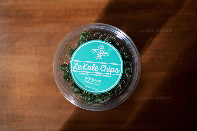 Kale Chips, by Kristen Beddard, 29, of The Kale Project, in Paris, France.  Kevin German / Luceo