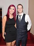 Gary Saurin celebrating his 21st birthday in Brú with girlfriend Danielle McAleer. Photo:Colin Bell/pressphotos.ie