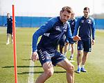 19.04.2019 Rangers training: Gareth McAuley