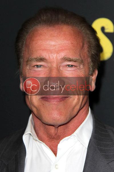 "Arnold Schwarzenegger<br /> at the ""Sabotage"" Premiere, Regal Cinemas, Los Angeles, CA 03-19-14<br /> David Edwards/DailyCeleb.Com 818-249-4998"