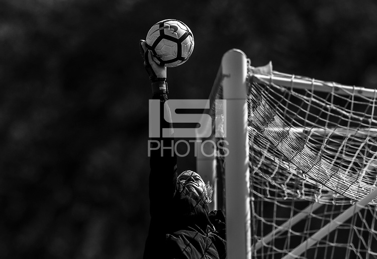 Orlando, FL - February 24, 2018: The USWNT trains in Orlando in preparation for the SheBelieves Cup.