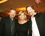 "Guiding Light's Robert Newman, Kim Zimmer and Bradley Cole join fans of Guiding Light at the Young Women's Breast Cancer Foundation event - Reach to Recovery - ""Spring into Shape!"" Luncheon and Fashion Show on April 6, 2008 at Embassy Suites, Coraopolis, Pennsylvania. The event also included a Chinese Auction and an autograph session with the Guiding Light actors. (Photo by Sue Coflin/Max Photos)"