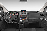 Stock photo of straight dashboard view of a 2015 Fiat SCUDO EXECUTIVE 5 Door Combi Dashboard