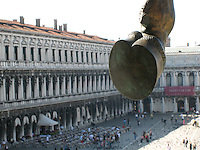 Hoof at the Piazza San Marco, Venice..