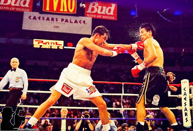Oscar De La Hoya vs xxxxxxx in Las Vegas Nevada at Caesars Palace