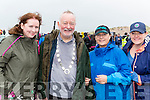 Connie McCarthy, Pat hayes, Tony Hayes and Rachel Hayes Glenbeigh at the Rossbeigh races on Sunday