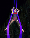 Lisa of Sedona Silks Aerial Dance Troupe