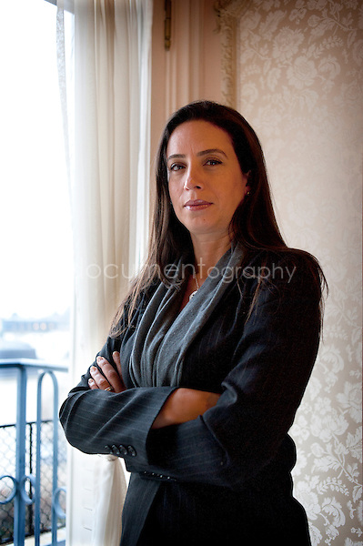 Copyright: Magali Corouge/ Documentography..Miss Rita Aoun Abdo in the hotel Ritz in Paris, on the 10 th of february 2011....