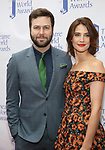 Taran Killam and Cobie Smulders attends the 73rd Annual Theatre World Awards at The Imperial Theatre on June 5, 2017 in New York City.
