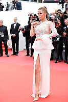 Alina Baikova attends the screening of 'Blackkklansman' during the 71st annual Cannes Film Festival at Palais des Festivals on May 14, 2018 in Cannes, France. <br /> CAP/GOL<br /> &copy;GOL/Capital Pictures