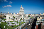 The National Capitol Building in Havana, Cuba.