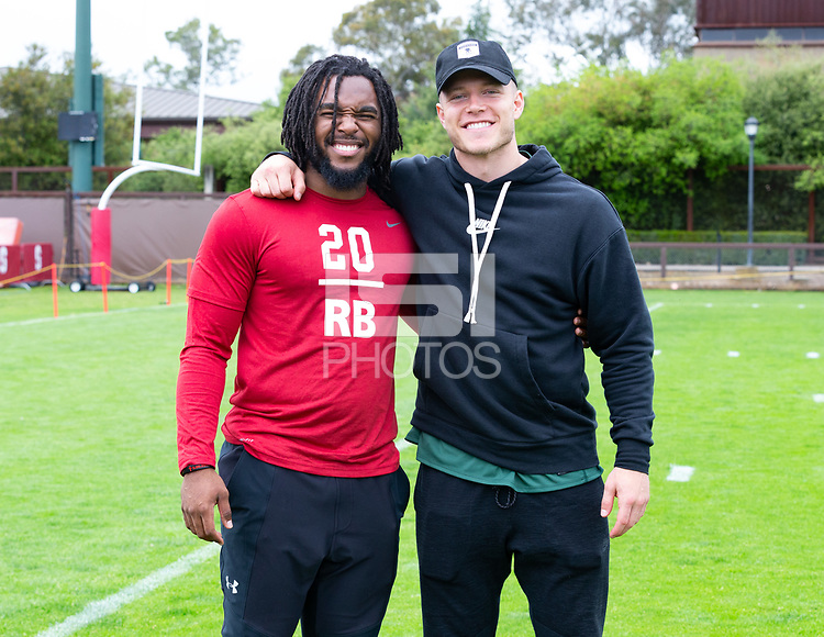 Stanford, California - April 4, 2019: Stanford Pro Timing Day in Stanford, California.