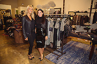 Yasmine Shekarchain and Rachel Turzer attend the Kora Rae Holiday Collection + Preview Spring 2015 at Avedon Boutique.