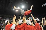 Kazuo Nakamura Head Coach (Phoenix), MAY 22th, 2011 - Basketball : bj-league 2010-2011 Season Playoff Final4, Final Match between Hamamatsu Higashimikawa Phoenix 82-68 Ryukyu Golden Kings at Ariake Coliseum, Tokyo, Japan. (Photo by Atsushi Tomura/AFLO SPORT/bj-league) [1035]