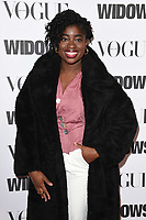 "LONDON, UK. October 31, 2018: Clara Amfo at the ""Widows"" special screening in association with Vogue at the Tate Modern, London.<br /> Picture: Steve Vas/Featureflash"