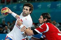 17.01.2013 World Championshio Handball. Match between Spain vs Hungray at the stadium La Caja Magica. The picture show  Antonio Garcia Robledo (Left Back of Spain)