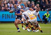 Bath Rugby's Jonathan Joseph in action during todays match<br /> <br /> Photographer Bob Bradford/CameraSport<br /> <br /> Premiership Rugby Cup - Bath Rugby v Wasps - Sunday 5th May 2019 - The Recreation Ground - Bath<br /> <br /> World Copyright © 2018 CameraSport. All rights reserved. 43 Linden Ave. Countesthorpe. Leicester. England. LE8 5PG - Tel: +44 (0) 116 277 4147 - admin@camerasport.com - www.camerasport.com