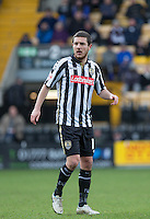 Liam Noble of Notts County during the Sky Bet League 2 match between Notts County and Wycombe Wanderers at Meadow Lane, Nottingham, England on 28 March 2016. Photo by Andy Rowland.