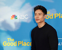 "LOS ANGELES - JUN 7:  Manny Jacinto at the NBC's ""The Good Place"" FYC Event at the Television Academy on June 7, 2019 in North Hollywood, CA"