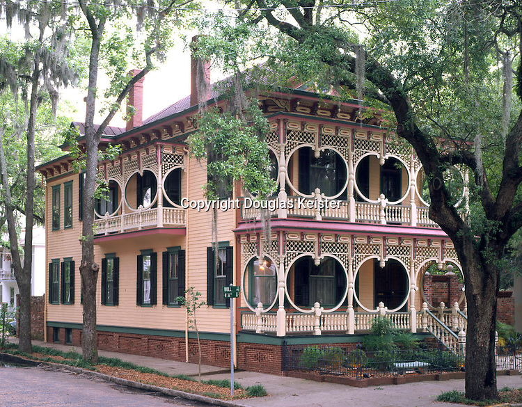 The Gingerbread Mansion.1921 Bull St.Savannah, GA