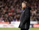 Chris Wilder manager of Sheffield United during the English League One match at the Bramall Lane Stadium, Sheffield. Picture date: April 5th, 2017. Pic credit should read: Jamie Tyerman/Sportimage