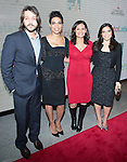 Deigo Luna Rosario Dawson Maria Teresa Kumar and America Ferrera attends the Cesar Chavez Premiere at The Newseum on March 18, 2014 in Washington, D.C., hosted by Voto Latino