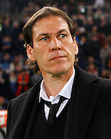 Rudi Garcia  during the Italian Serie A soccer match between   AS Roma and Juventus FC       at Olympic Stadium      in Rome ,March 02 , 2015