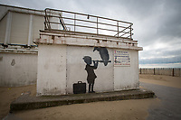 At the borders of the empire... Banksy (Calais).<br />