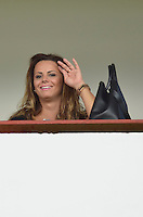 VARGINHA, MG, 17 DE MARCO DE 2013 - CAMPEONATO MINEIRO 2013 - BOA ESPORTE x CRUZEIRO - Viviane Araujo, esposa do jogador Radames, do Boa Esporte, no estadio Melao em Varginha para o jogo entre Boa Esporte x Cruzeiro, valido pela 6 rodada do Campeonato Mineiro 2013. FOTO: DOUGLAS MAGNO / BRAZIL PHOTO PRESS