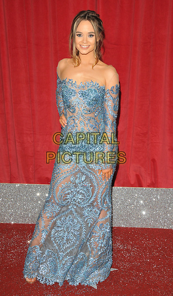 Daisy Wood-Davis at the British Soap Awards 2017, The Lowry Theatre, Pier 8, Salford Quays, Salford, Manchester, England, UK, on Saturday 03 June 2017.<br /> CAP/CAN<br /> &copy;CAN/Capital Pictures