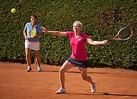 Netherlands, Amstelveen, August 22, 2015, Tennis,  National Veteran Championships, NVK, TV de Kegel,  womans doubles<br /> Photo: Tennisimages/Henk Koster