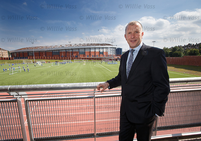 SFA Chief Exec Stewart Reagan overlooking Hampden