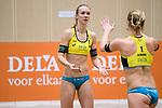 05.01.2019, Den Haag, Sportcampus Zuiderpark<br />Beachvolleyball, FIVB World Tour, 2019 DELA Beach Open<br /><br />Sandra Ittlinger (#2 GER), Kim Behrens (#1 GER)<br /><br />  Foto &copy; nordphoto / Kurth