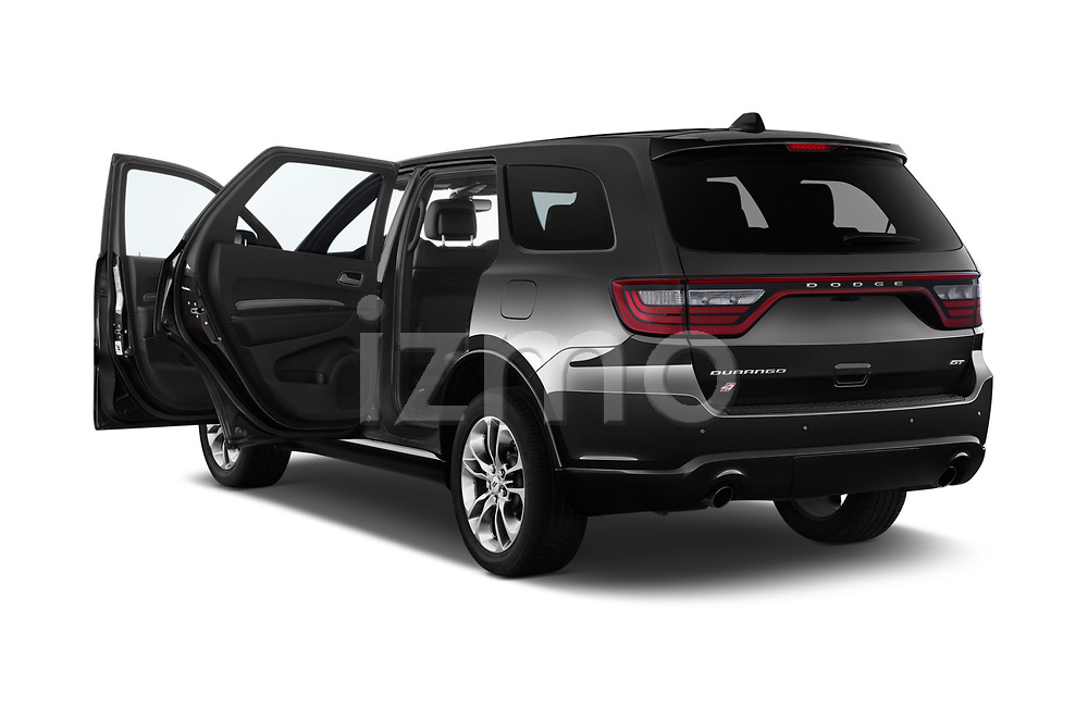 Car images close up view of a 2019 Dodge Durango GT 5 Door SUV doors
