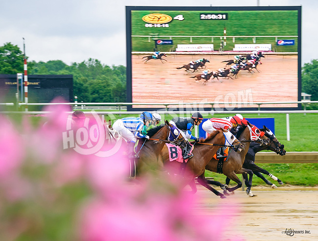 First time by the grandstand in the 4th at Delaware Park on 6/16/16