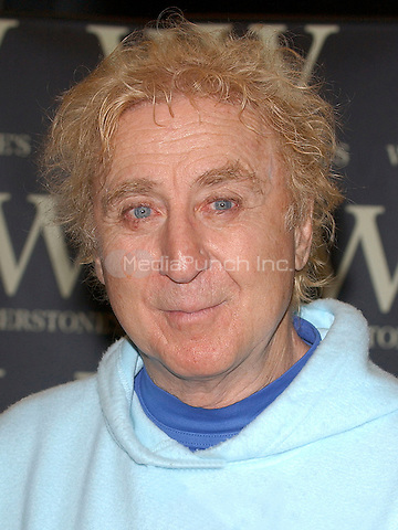 GENE WILDER<br /> Book Signing for his new autobiography, Kiss Me Like A Stranger, Waterstones, Oxford Street, London. <br /> June 7, 2005.<br /> portrait headshot<br /> Ref: BEL<br /> www.capitalpictures.com<br /> sales@capitalpictures.com<br /> &copy;Tom Belcher/Capital Pictures
