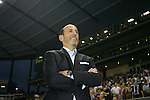 09 June 2011: MLS Commissioner Don Garber before the game. Sporting Kansas City played the Chicago Fire to a 0-0 tie in the inaugural game at LIVESTRONG Sporting Park in Kansas City, Kansas in a 2011 regular season Major League Soccer game.