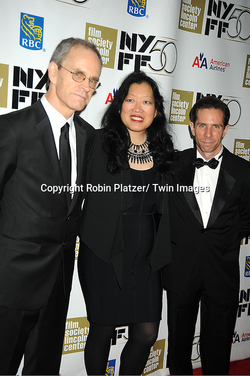"""Robert Koehler, Rose Kai and Scott Foundas attends the 50th Annual New York Film Festival Opening Night Gala presentation of """"Life of Pi"""" starring Suraj Sharma and directored by Ang Lee on September 28, 2012 in New York City. The screening was at Alice Tully Hall at Lincoln Center."""
