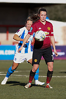 Ella Toone of Manchester United Women during Brighton & Hove Albion Women vs Manchester United Women, SSE Women's FA Cup Football at Broadfield Stadium on 3rd February 2019