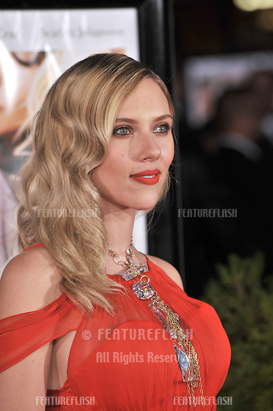 "Scarlett Johansson at the Los Angeles premiere of her new movie ""Vicky Cristina Barcelona"" at the Mann Village Theatre, Westwood..August 4, 2008  Los Angeles, CA.Picture: Paul Smith / Featureflash"