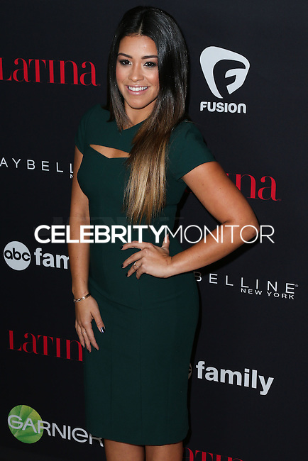 WEST HOLLYWOOD, CA, USA - NOVEMBER 13: Gina Rodriguez arrives at the Latina Magazine's '30 Under 30' Party held at SkyBar at the Mondrian Los Angeles on November 13, 2014 in West Hollywood, California, United States. (Photo by Xavier Collin/Celebrity Monitor)