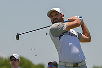 Sergio Garcia (ESP) watches his tee shot on 3 during round 2 of the AT&amp;T Byron Nelson, Trinity Forest Golf Club, at Dallas, Texas, USA. 5/18/2018.<br /> Picture: Golffile | Ken Murray<br /> <br /> <br /> All photo usage must carry mandatory copyright credit (&copy; Golffile | Ken Murray)