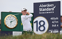 Brandon Stone (RSA) plays to the last during the Final Round of the ASI Scottish Open 2018, at Gullane, East Lothian, Scotland.  15/07/2018. Picture: David Lloyd | Golffile.<br /> <br /> Images must display mandatory copyright credit - (Copyright: David Lloyd | Golffile).