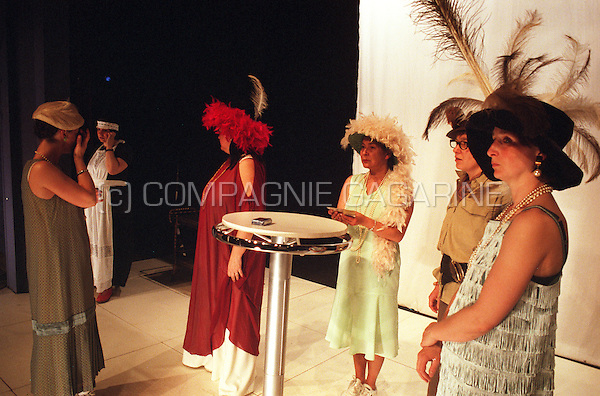 "Theatre company De Reynaertghesellen playing ""The Women"" from Clare Booth directed by Marnick Bardyn (Belgium, 24/04/2003)"